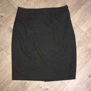 Limited Black Pencil Skirt, Black Collection